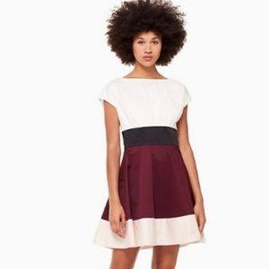 Kate Spade Colorblock Fiorella Dress Size 8